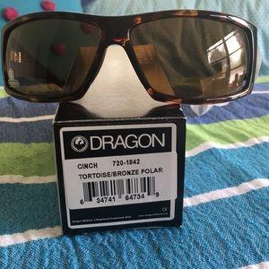 NIB Dragon Sunglasses CINCH Tort Bronz polarized